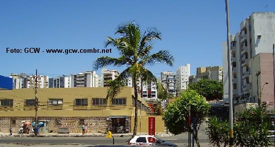 Colégio Estadual Manoel Devoto - Frente e Lateral Direita